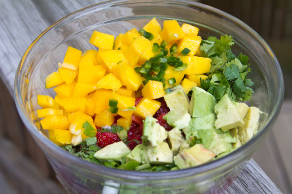 Strawberry Mango Jicama Salad Recipes — Dishmaps