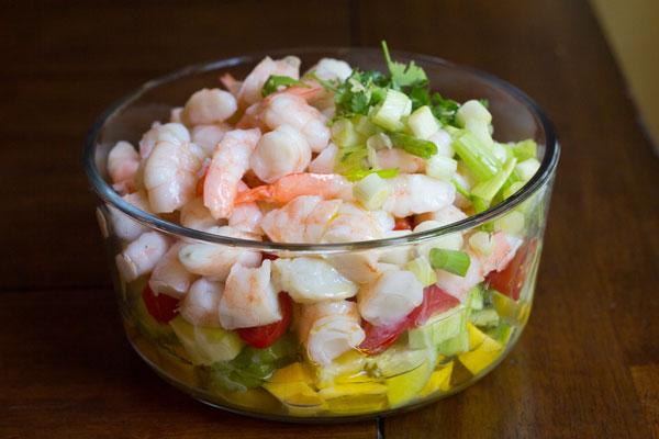 Tropical Shrimp Ceviche | Mommie Cooks!