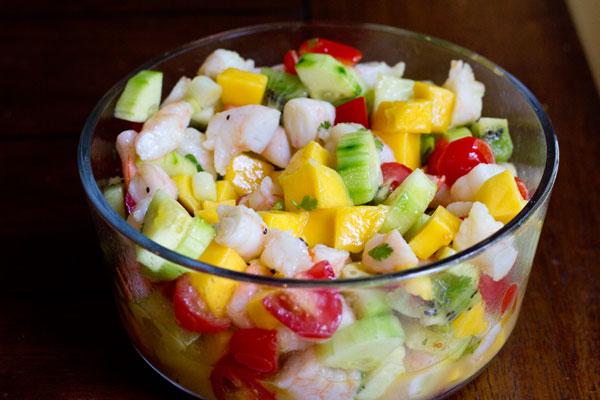 Tropical Ceviche Recipe — Dishmaps