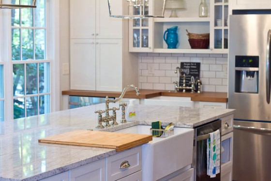 The New Kitchen Reveal! @mommiecooks