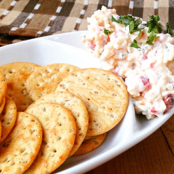 Bacon Ranch Pimento Cheese from @mommiecooks