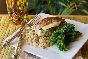 Bacon, Apple & Gouda Stuffed Pork Chops and a Free Jug of Better than Bouillon