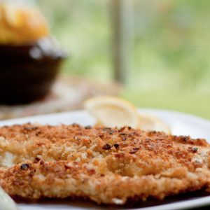 Macadamia Crusted White Fish