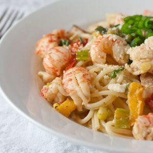 Cajun Lobster Pasta