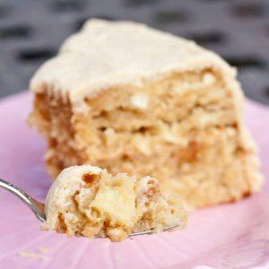 Family Friendly Fridays: Caramel Apple Cake