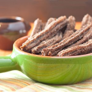 Family Friendly Fridays: Chocolate Churros