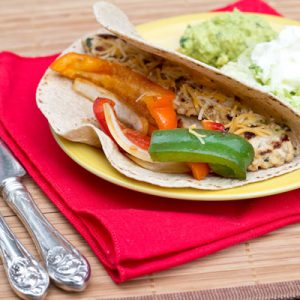Family Friendly Fridays: Chicken Fajitas