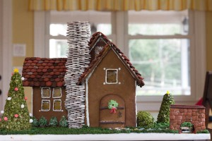 The Making of a Gingerbread House: Part 2