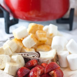 Family Friendly Fridays: Toblerone Fondue